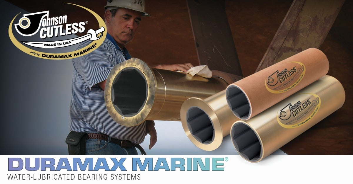 Johnson Cutless 174 Water Lubricated Bearing Systems Naval