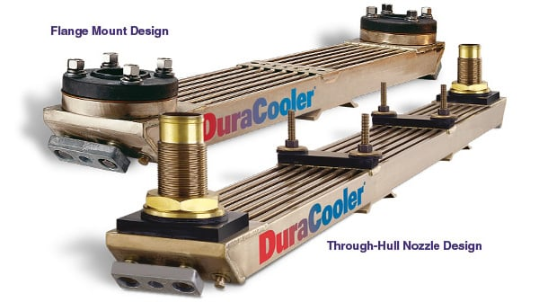 DuraCooler Flange and Through-Hull